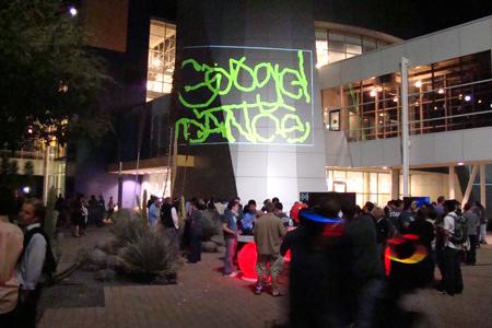 Google Dance Party Lazer Tag